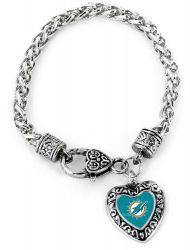 DOLPHINS HEART BRACELET