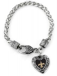 SAINTS HEART BRACELET