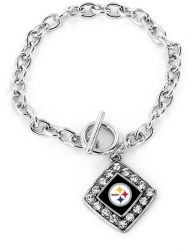 STEELERS CRYSTAL DIAMOND BRACELET