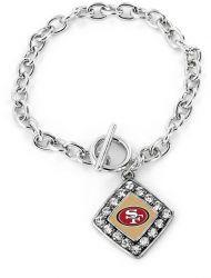 49ERS CRYSTAL DIAMOND BRACELET