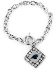 PANTHERS CRYSTAL DIAMOND BRACELET