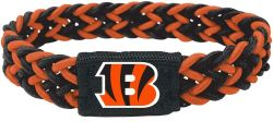 BENGALS (BLACK/ORANGE) STRETCH BRACELET (OC)