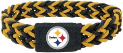 STEELERS (BLACK/YELLOW) STRETCH BRACELET (OC)