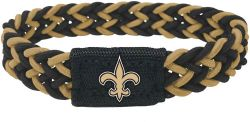 SAINTS (BLACK/GOLD) STRETCH BRACELET (OC)