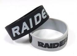 RAIDERS WIDE BRACELETS (2-PACK)