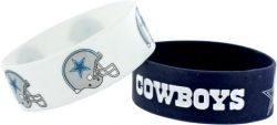 COWBOYS WIDE BRACELETS (2-PACK)