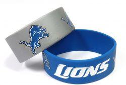 LIONS WIDE BRACELETS (2-PACK)