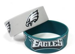 EAGLES WIDE BRACELETS (2-PACK)