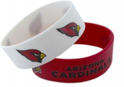 CARDINALS WIDE BRACELETS (2-PACK)