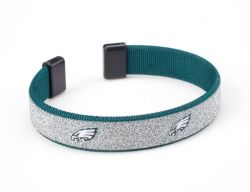 "EAGLES 1/2"" SPARKLE BRACELET"