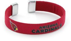 "CARDINALS 1/2"" RIBBON BRACELET"