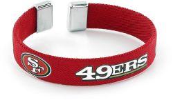 """49ERS 1/2"""" RIBBON BRACELET"""