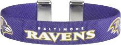 """RAVENS 1/2"""" RIBBON BRACELET"""