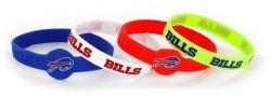 BILLS SILICONE BRACELETS (4-PACK)