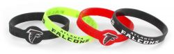 FALCONS SILICONE BRACELET (4-PACK)