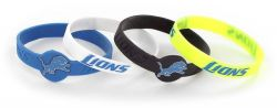 LIONS SILICONE BRACELET (4-PACK)
