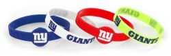 GIANTS SILICONE BRACELET (4-PACK)