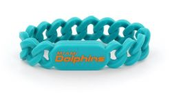 DOLPHINS SILICONE LINK BRACELET