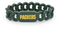 PACKERS SILICONE LINK BRACELET