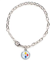 STEELERS LOGO BRACELET