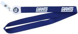 GIANTS BADGE REEL WITH (BLUE) LANYARD