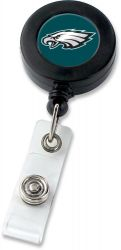 EAGLES (BLACK) BADGE REEL (NE)