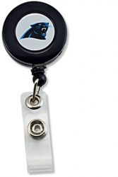 PANTHERS (BLACK) BADGE REEL (NE)