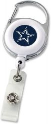 COWBOYS DELUXE CLIP BADGE REEL