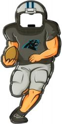 PANTHERS ACTION BOTTLE OPENER/MAGNET  (OC)