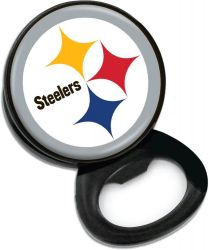 STEELERS BOTTLE OPENER MEMO CLIP MAGNET