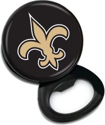 SAINTS BOTTLE OPENER MEMO CLIP MAGNET