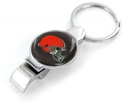 BROWNS ARCHITECT BOTTLE/CAN OPENER KEYCHAIN