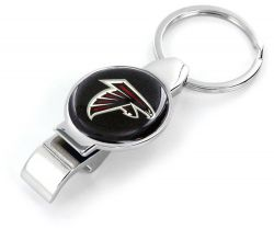 FALCONS ARCHITECT BOTTLE/CAN OPENER KEYCHAIN