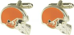 BROWNS CUTOUT CUFF LINKS WITH BOX