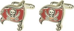 BUCCANEERS CUTOUT CUFF LINKS WITH BOX