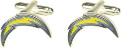 CHARGERS CUTOUT CUFF LINKS