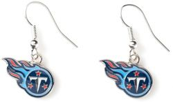 TITANS LOGO DANGLER EARRINGS