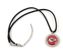 CHIEFS CRYSTAL CIRCLE NECKLACE (FJ-1022)