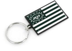 JETS AMERICANA FLAG KEYCHAIN