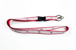 CHIEFS (RED) SPARKLE LANYARD