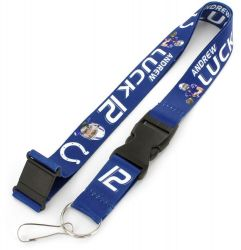 COLTS (LUCK) PLAYER ACTION LANYARD