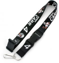 RAIDERS (CARR) PLAYERS ACTION LANYARD