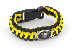 PENGUINS (BLACK/YELLOW) PARACORD BRACELET