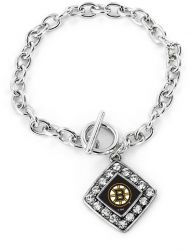BRUINS CRYSTAL DIAMOND BRACELET