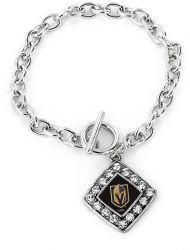 GOLDEN KNIGHTS CRYSTAL DIAMOND BRACELET