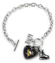 PENGUINS LOVE SKATE BRACELET
