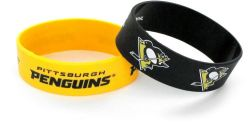 PENGUINS WIDE WRISTBAND (2 PACK)