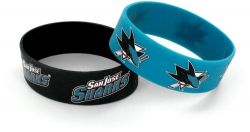 SHARKS WIDE WRISTBAND (2 PACK)