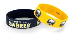 SABRES WIDE WRISTBAND (2 PACK)