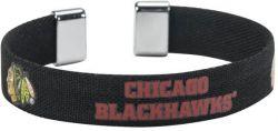 "BLACKHAWKS 1/2"" RIBBON BRACELET"
